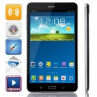 "P321 MTK8382 Quad-Core Android 4.4.2 WCDMA Phone Tablet PC w/ 7.0"", 8GB ROM, Wi-Fi, GPS, OTG - Black"