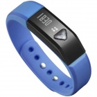 "Vidonn X5 0.49"" OLED IP67 Bluetooth V4.0 Smart Wristband Bracelet w/ Sports / Sleep Tracking - Blue"