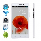 "CUBOT GT88 Dual-Core Android 4.2.2 WCDMA Bar Phone w/ 5.5"" IPS, GPS, FM and Dual-SIM - White"
