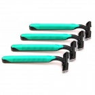 GM-91 Manual Shaving Razor Knife - Green + Black (5 PCS)