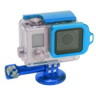 Fat Cat Back Door Clip Safety Lock for GoPro Hero 3+ Housing - Blue