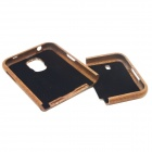Detachable Protective Wood Back Case for Samsung Galaxy S5