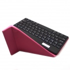 "BK169 9"" Bluetooth V3.0 65-Key Keyboard w/ Protective PU Leather Case for Samsung / APPLE MACBOOK"
