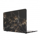 "Hat Skeleton Pattern Protective Full Body Matte Case for MacBook Air 13.3"" - Black"