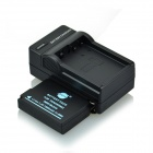 DSTE BLD10 Battery and DC115 US Plug Charger for Panasonic DMC-GF2 DMC-GF2GK GX1 G3 Camera