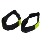 Reflexivo Night-time Safety Red 4-LED Wrist Strips - Verde (Par)