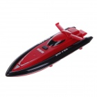 958 High Speed 4 Channel Radio Remote Control Racing Boat Toy - Red