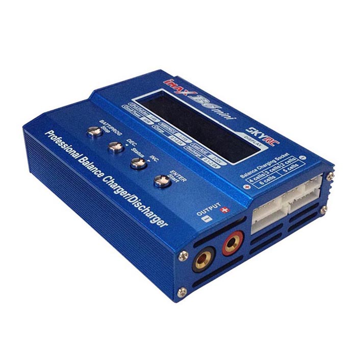 SKYRC SK-800084-01 B6 Mini 6A 60W DC11-18V Professional Balance Charger / Discharger w/t 2.6LCD