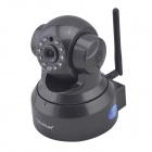 "VStarcam T6836WTP 1/4"" CMOS 0.3MP PTZ Wireless Network IP Camera w/ 10-IR-LED / Wi-Fi / TF - Black"