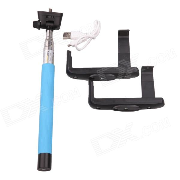 TOZ Z07-6 Handheld Wireless Bluetooth Mobile Phone Monopod for iOS 4.0 and Android 3.0 Above System набор jtc k3082