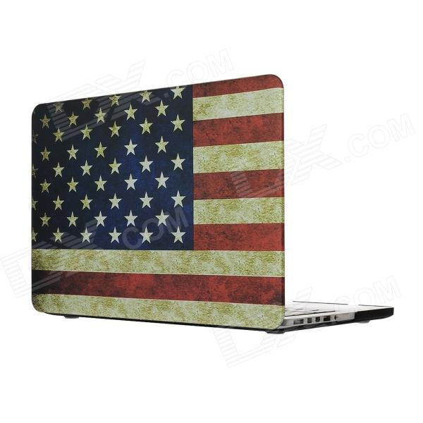 Hat-prince USA Flag Pattern Full Body Matte Case for MacBook Pro 13.3