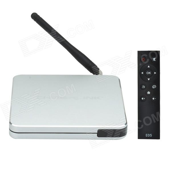 CHEERLINK HDTVE05 Android 4.2.2 Quad-Core Smart HD Notwork Player w/ 1GB RAM, 8GB ROM, Wi-Fi, TF