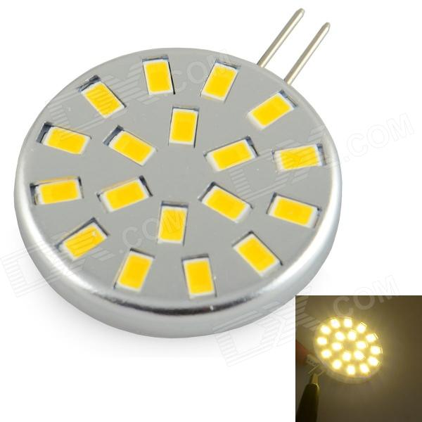 Silver (DC 12V) - Warm White Light Lamp XGHF G4 2.6W 260lm 3000K 18-SMD 5730 LED