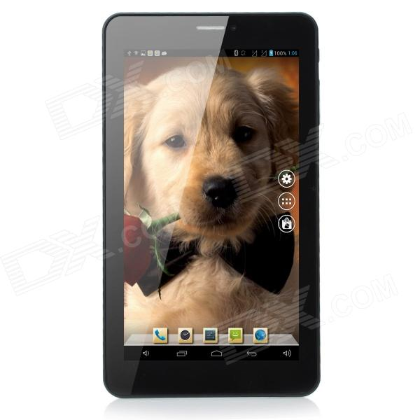"WitCool 7.0-""Dual-Core Android 4.2 Tablet PC med 512MB RAM, 8GB ROM, Bluetooth - hvit"