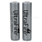 Ultrafire 3.7V 1800mAh LC 17670 Protected Battery 2-Pack