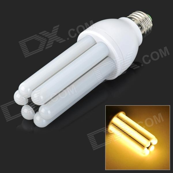 E27 12W 900lm 3000K 120-SMD 3014 LED Warm White Light Lamp - White (AC 85~265V)