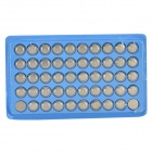 AG10 1.5V Alkaline Cell Button Battery - Silver (50PCS)