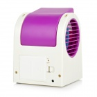 INFORMYI Fragrant USB Air Conditioner Fan - White + Purple