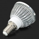 GU042 E14 4W 450lm 16-SMD 5730 LED Col White Light Bulb (AC 85~265V)