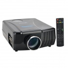 VisionTek XP728LUWX 1280 x 768 2-HDMI & 2-USB Ports HD R/C Home Theater LED Projector Set (2 x AAA)