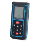 "RZ-E10 1.8"" Display Length / Area / Volume 100m Laser Distance Meter - Dark + Red (3 x AAA)"