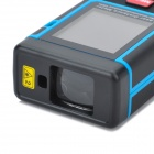 "RZ-E10 1,8"" Display Comprimento / Área / Volume 100m Laser Distance Meter - Escuro + Vermelho (3 x AAA)"