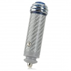 Vacarx VA-223 Car Cigarette Lighter Powered Solid Anion Ozone Air Cleaner Purifier - Silver
