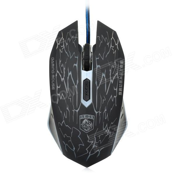 1600dpi USB Wired Gaming Mouse fc 143 usb 2 0 wired 1600dpi led gaming mouse black cable 120cm