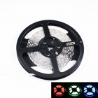 KINFIRE L-8 Dual-Row 72W 2200lm 540-SMD 3528 LED RGB Light Strip - Black + White (DC 12V / 5m)