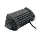 36W 2520lm 6000K 12-Epistar LED Waterproof Spotlight Working Lamp Bar for Car / Boat - Black