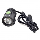 UltraFire F88 LED 700lm 4-Mode White Light Bicycle Light - Black (4 x 18650 )