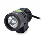 UltraFire F88 LED 700lm 4-Mode White Light Bicycle Light - Black (4 x 18650)