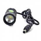 UltraFire F99-L2 LED 679lm 4-Mode White Light Bicycle Light - Black (4 x 18650)