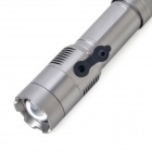 R18 550lm 5-Mode White Light Rotary Zooming Flashlight - Grey