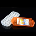 YH5870 24-cubicle Ice Tray / Ice Mold / Ice Maker / Ice Mold / Ice Cassette w/ Cover - Orange