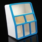 CH8866  Mini PP Resin 7-cubicle Storage Box - Blue