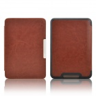 EPGATE-Protective PU Leather Flip Case Cover for Tolino Shine - Brown