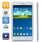 "P321 MTK8382 Quad-Core Android 4.4.2 WCDMA Bar Phone w/ 7.0"", 8GB ROM, Wi-Fi, GPS, OTG - White"