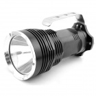 E-smart T6 950lm Cree XM-L 5-mode White LED Rechargeable Flashlight Searchlight - Black (4 x 18650)