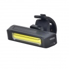 RAYPAL RPL-2261 30~50lm 6-Mode Cold White Light Bicycle Safety Taillight - Black + Yellow