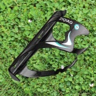 ZIQIAO BCF-1002 Carbon Fiber Water Bottle Bracket Holder for Bicycle - Black + Blue