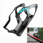 ZIQIAO BCF-2008 Carbon Fiber Water Bottle Bracket Holder for Bicycle - Black + Blue