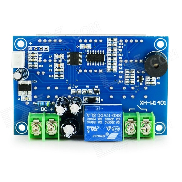 HF 0.56 LCD + 2-0.4 Digital Thermostat Temperature Controller - Dark Blue + Black (-9~99'C/12V) zhongshan juchuang jcw 823 electronic thermostat temperature controller digital temperature controller