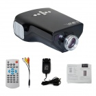 EJIALE E03 Portable Children's Education LCD Projector w/ HDMI, USB, TF, TV, AV - Black