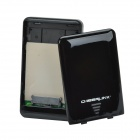 "CHEERLINK HUA001-SU3 Padlock 256AES Encrypted External USB 3.0 HDD Case for 2.5"" SATA Hard Drive"