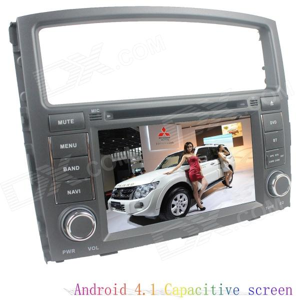 LsqSTAR 7 Android4.1 Capacitive Screen Car DVD Player w/ GPS WiFi Canbus AUX for Mitsubishi Pajero автомобильный усилитель acv lx 4 80
