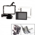 "PANNOVO 2.0"" TFT LCD Screen w/ Waterproof Back + Plastic Fixed Frame Case for GoPro Hero 3+"
