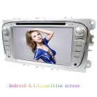 "LsqSTAR 7"" Android4.1 Capacitive Screen Car DVD Player w/ GPS WiFi Canbus AUX for Mondeo/Focus/S-Max"