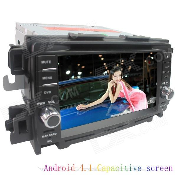 LsqSTAR 7 Android4.1 Capacitive Screen Car DVD Player w/ GPS WiFi Canbus AUX for Mazda CX-5/Atenza автомобильный dvd плеер lg 2 din 8 dvd gps mazda 3 android 3g wifi tv aux bluetooth