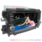 "LsqSTAR 7"" Android4.1 Capacitive Screen Car DVD Player w/ GPS WiFi Canbus AUX for Mazda CX-5/Atenza"